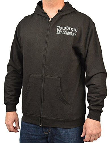 Men's Speed Demon by Mike Bell Frankenstein Hot Rod Shop Racer Halloween Hoodie -