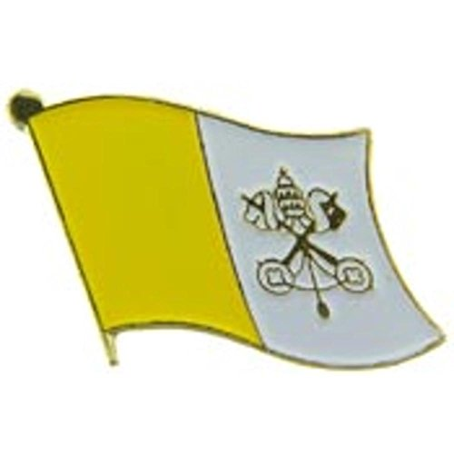 Vatican Flag Pin 1