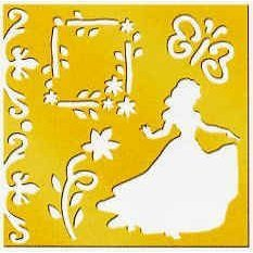 amazon com disney princess brass stencil 46626 snow white