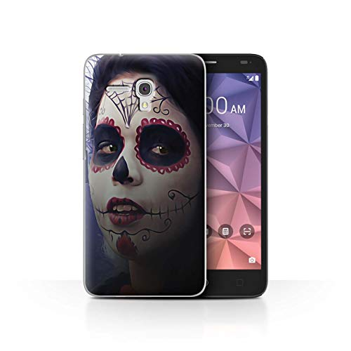 STUFF4 Phone Case/Cover for Alcatel Fierce XL/Halloween Makeup Design/Day of The Dead Festival Collection]()