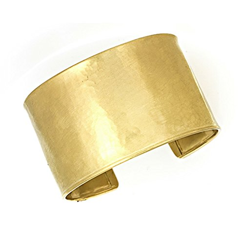 18KT Yellow Gold 37mm Hammered