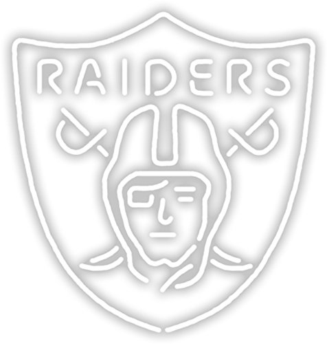 Imperial Officially Licensed NFL Merchandise: Neon Light, Oakland Raiders