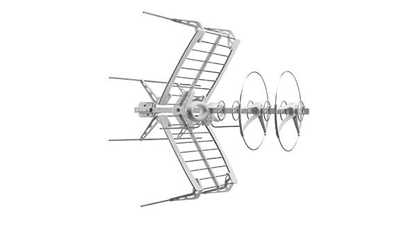 Antena Sigma Fracarro ad 8 elementos UHF/VHF para recepción ...