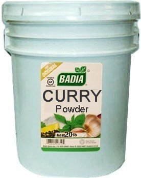 Badia Curry Powder 20 lbs by Badia