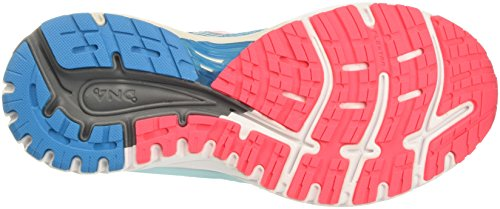 Brooks Adrenaline GTS 18, Scarpe da Running Donna Turchese (Blue/Mint/Pink 1b408)