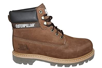 4db27f645220 G514Bn Caterpillar CAT Colorado Mens Leather Worker Ankle Boots Size ...
