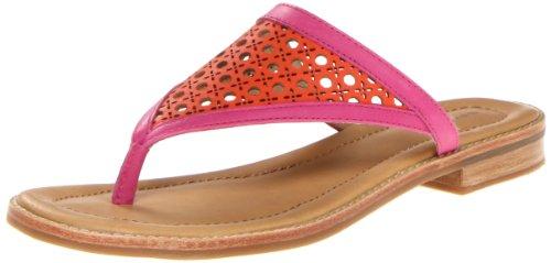 Sperry Top-Sider Women's Annalee Tangerine/Fuchsia Sandal 8 M (B)