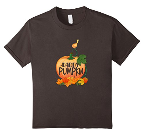 Kids Daddy Pumpkin - Pregnancy Announcement - Halloween Shirt 6 Asphalt (Baby Daddy Halloween 2017)