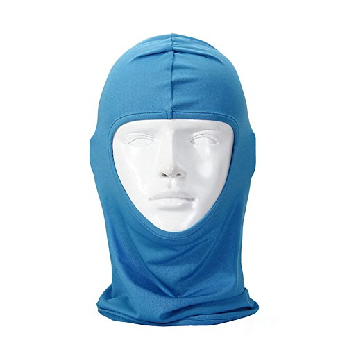 - lilyy Classic Lycra Ski Face Full Mask Bike Bicycle Motorcycle Cs Sports Football Balaclava Helmet For Sun UV Protection