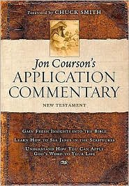 Jon Courson's Application Commentary Publisher: Thomas Nelson
