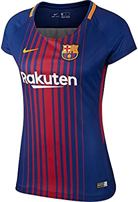 ec6c59abdcc58 2017-2018 Barcelona Home Nike Ladies Shirt  Amazon.es  Deportes y aire libre