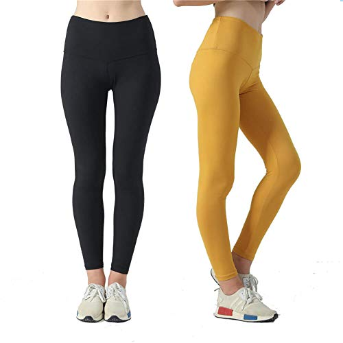 Sweetaluna High Waist Yoga Pants Stretch Workout Leggings for Women Tummy Control Ultra Soft
