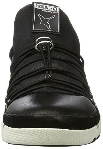 Hombre Negro W4m Pikolinos para i17 Black Nerja Zapatillas 7x6X1