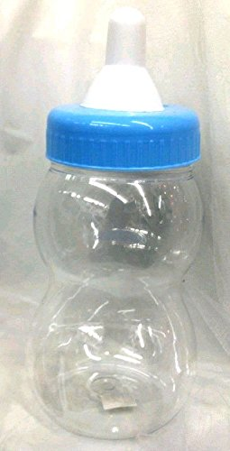 Amazon 40 Jumbo 40 Baby Blue Bottle Fillable Baby Shower Bank Beauteous Decorated Baby Bottles