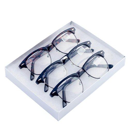MJ Eyewear Clear Vintage Classic