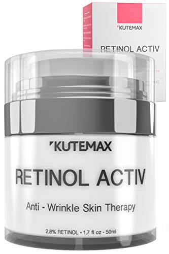 41Fz%2BltvoTL - Retinol Night Cream - Anti-Age Formula - Reduces Wrinkles and Fine Lines - Special Mix of Organic Skincare Ingredients - 1.7 fl oz, 50 ml