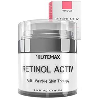Retinol Night Cream - Anti-Age Formula - Reduces Wrinkles and Fine Lines - Special Mix of Organic Skincare Ingredients - 1.7 fl oz, 50 ml
