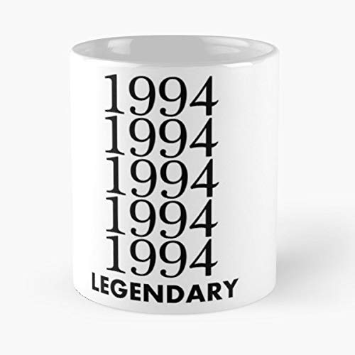 1994 Legendary Legend Hero - Morning Coffee Mug Ceramic Novelty, Funny Gift