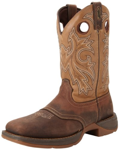Durango Mens Rebel Db4442 Western Boot Brown Tan 9 W Us