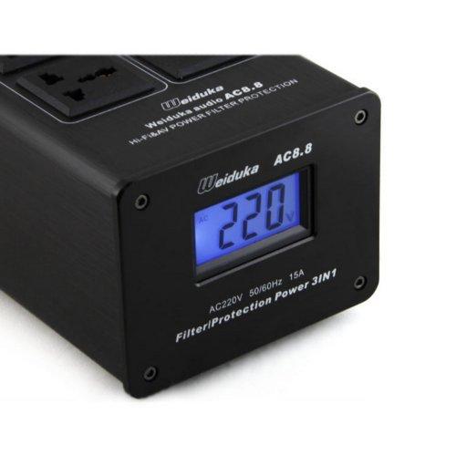 Weiduka AC8.8 3000W 15A Advanced Audio Power Purifier Filter AC Power Socket by Weiduka (Image #2)'