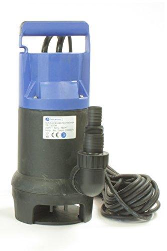 Tauchpumpe-Schmutzwasserpumpe-Gartenpumpe-Teichpumpe-Pumpe-TP-400SW