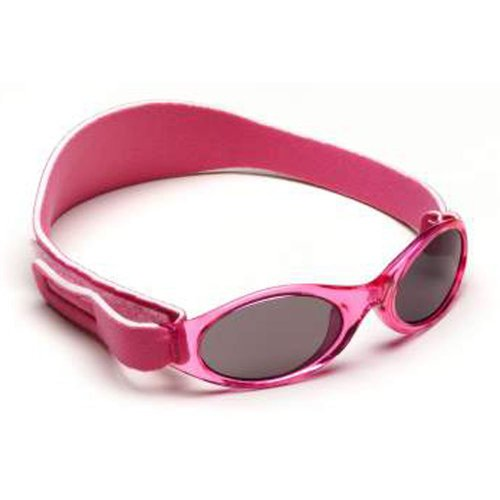 Babybanz Baby Banz Pink Check, UV eye protection for 0-2 year - The Toughest World In Sunglasses