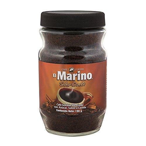 Café El Marino Café Instantáneo Canela Frasco, 190 g