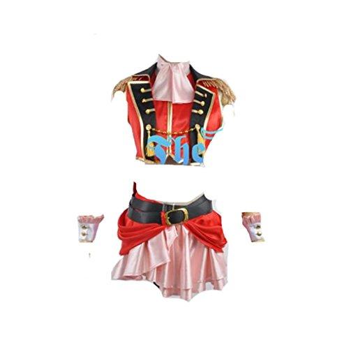 Love Live 2 Kousaka Honoka Dancing StarsOnMe Halloween Cosplay Costume -