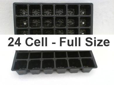Seed Tray Inserts - 24 Cell Insert Pack of 50 (a468)