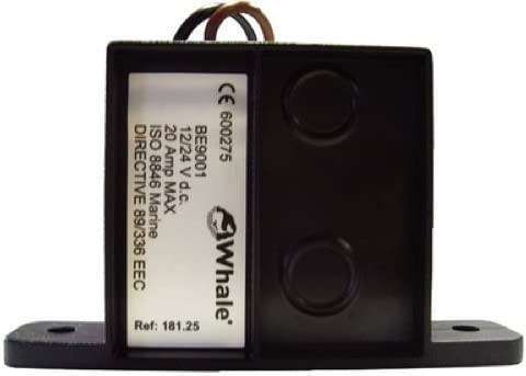 Ultima Float Switch 12//24V Solid State 20 Amp Johnson Pump 36303