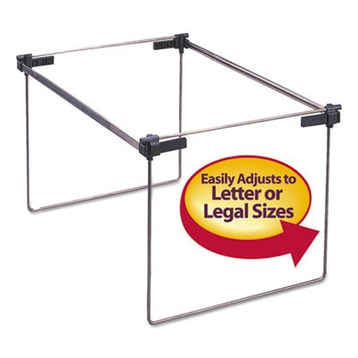 "Hanging Folder Frame, Letter/Legal Size, 12-24"""" Long, Steel, 2/Box, Sold as 2 Each"
