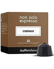 48 Cortado-kapslar - Kompatibel med kaffemaskiner från Dolce Gusto Il Caffè Italiano - FRHOME