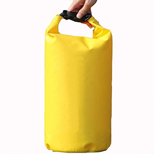 Rainleaf Floating Waterproof Dry Bag (10L/20L) Roll Top Dry Bag.Great for Water Sports as Kayaking,Canoeing, Rafting, Boating, Swimming, Camping, Hiking, Beach, Fishing,Gym,Outdoor from Rainleaf