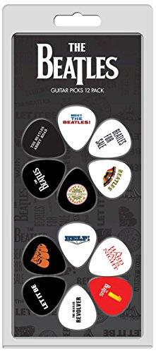 Perris Leathers LP12-TB2 The Beatles Guitar Picks, - Beatles Guitar Straps