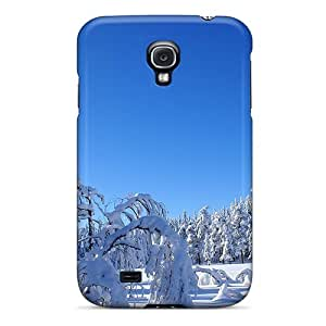 Williamore Snap On Hard Case Cover Trees Snow Protector For Galaxy S4