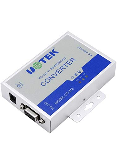 UTEK UT-216 RS232 to RS485/422 Active Vonverter(External-powered, RS-232 to RS-485/422, Wall-mounted, 600w Surging protetion)