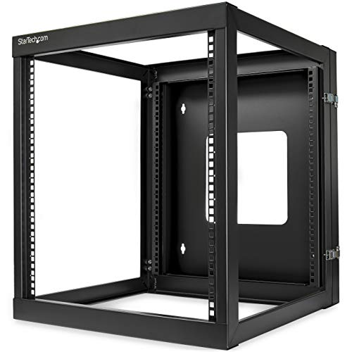 StarTech.com 12U Wall Mount Rack - Hinged - 22