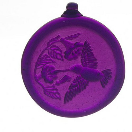 Kitras 3-Inch Hummingbird Suncatcher, Purple ()