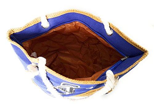 Para Grandes Brandelia De Y Colores Playa Modelos Verano Ancla Varios Azul Cobalto Bolsos Mujer 6TanaxZX