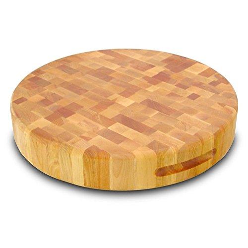Catskill Craftsmen 17-Inch Round Slab, Reversible (Round Slab Cutting Board)