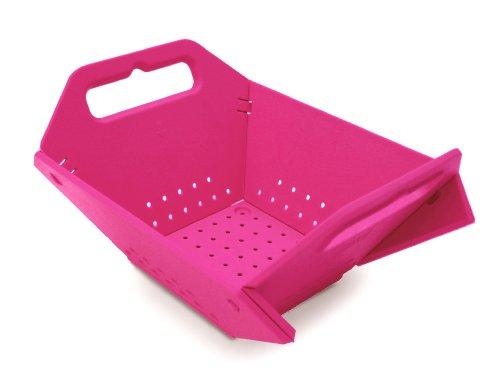 [Joseph Joseph Folding Colander, Pink] (Joseph Joseph Folding Colander)