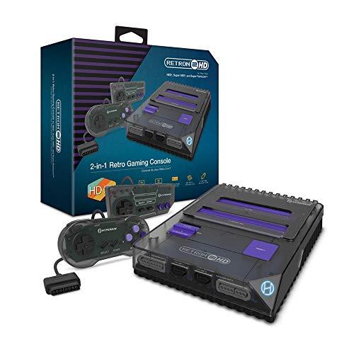 Hyperkin RetroN 2 HD Gaming Console for NES/ Super Famicom (Space Black)