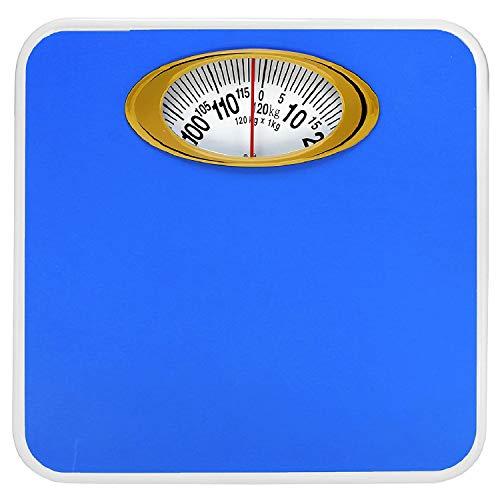 MCP Weighing Scale Analogue Manual Mechanical Weighing Machine for Human Body weight machine  Blue  120kg