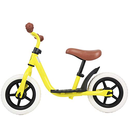 HAPTOO 12 in Sport Balance Bike, Ages 12 Months to 4 Years