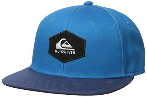 Quiksilver Boys' Big SWIVELLS Youth Trucker HAT, Crystal Teal, 1SZ (Little Boys Hat Quiksilver)