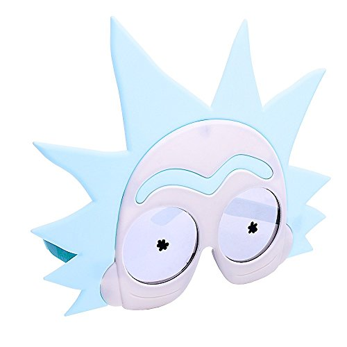 (Costume Sunglasses Rick from Rick and Morty Sun-Staches Party Favors)