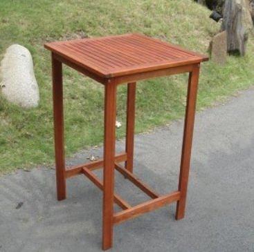 Vifah V495T Dartmoor Outdoor Wood Bar Table by Vifah