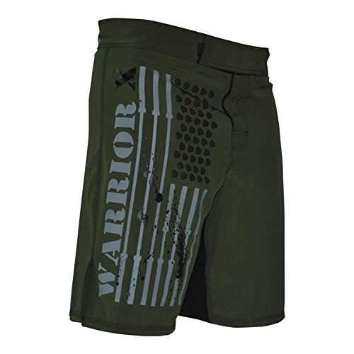 WOD OCR MMA Shorts (Green, 34)