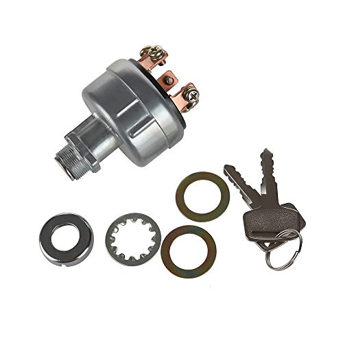 MIDIYA Ignition starter key switch with 6 Terminal Wire Digger 2 Keys Suit  for Universial type of | PrestoMall - Others