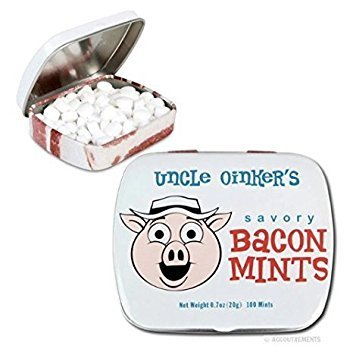Bacon Flavored Mints net wt. 0.85 oz(24 g)